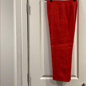 Talbots Lined Linen Pants